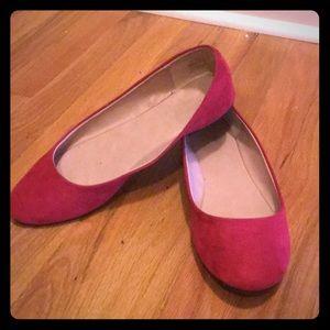 Mix No. 6 Shoes - Red Mix No. 6 ballet flats